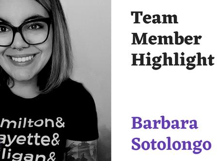 Team Highlight Series: Barbara Sotolongo
