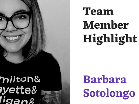 Team Highlight Series: Barbara Sotolongo