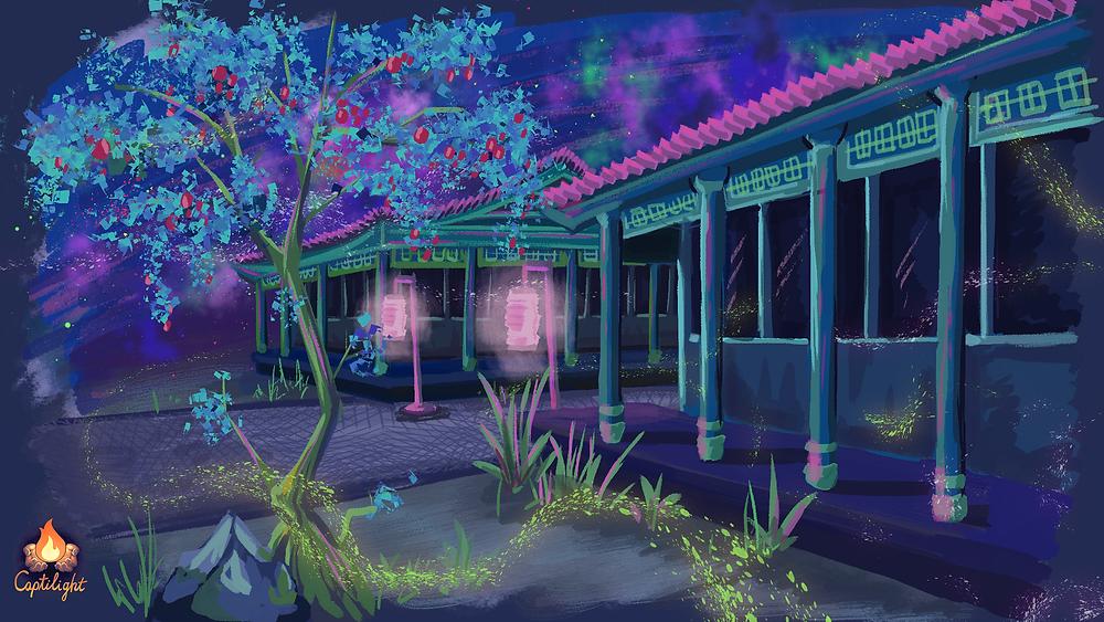 Path of Kami Concept Art | Art by Janet Doan