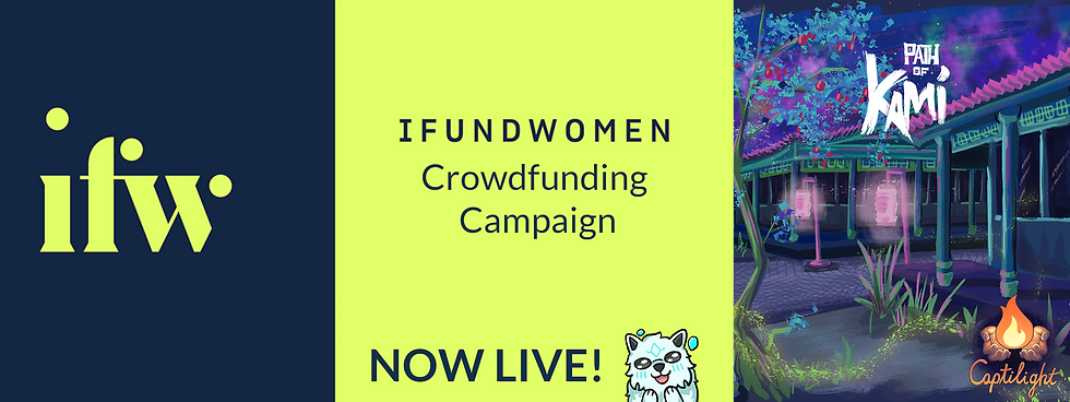 IFundWomenCrowdfunding Campaign Banner v