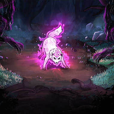 Path of Kami Elemental Power and Demon Concept Art