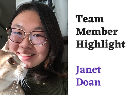 Team Highlight Series: Janet Doan