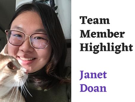 Team Highlight Series: Janet Doan