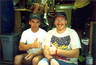 1993 Budds Creek USGP Guy Cooper and me