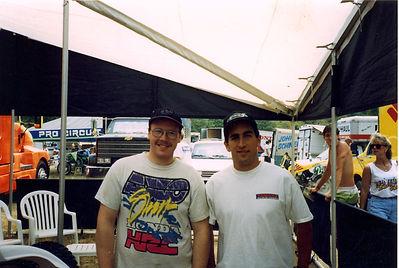 1993 Budds Creek Doug Dubach and me.jpg