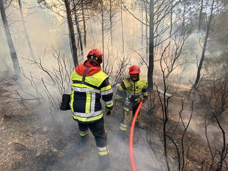 Feuer im Var endlich unter Kontrolle – Seelsorge-Hotline für Betroffene