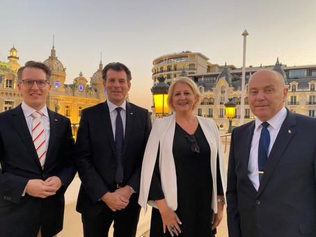 Schweizerischer Botschafter und Generalkonsul in Monaco akkreditiert