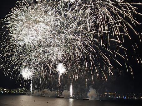 Cannes erlebt pompöses Finale seines Feuerwerks-Festivals