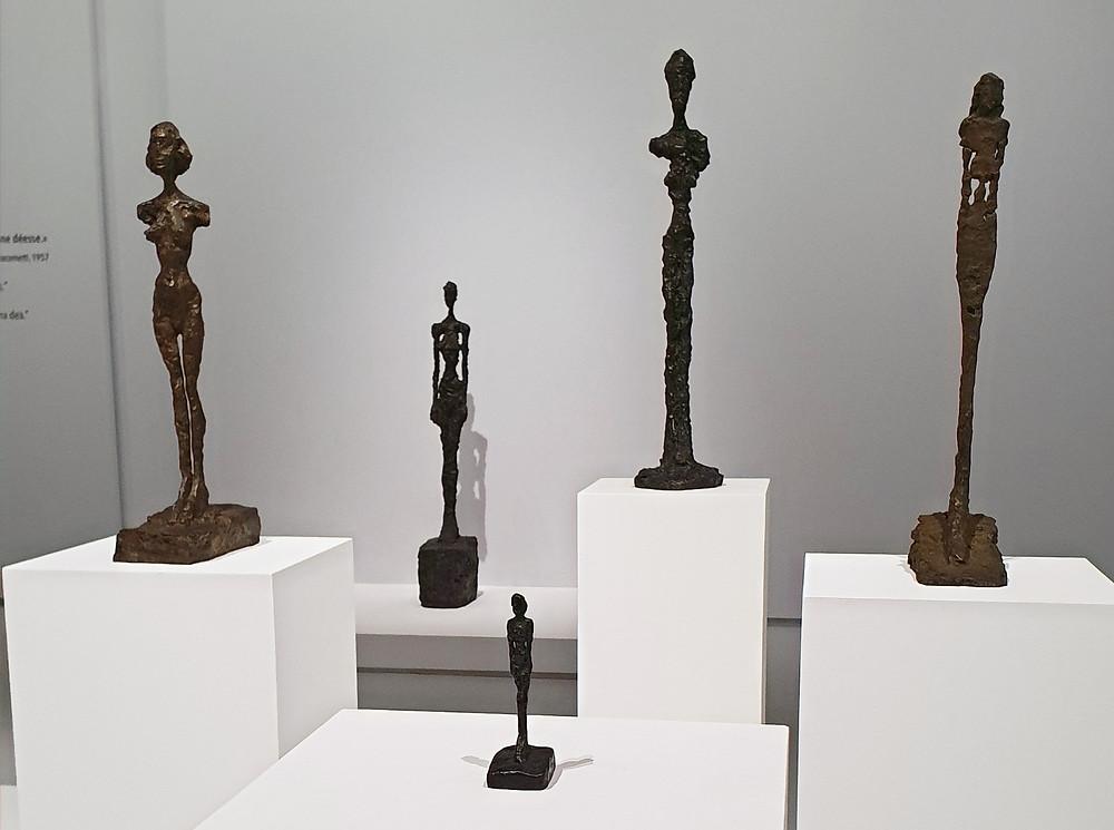 Giacometti-Skulpturen