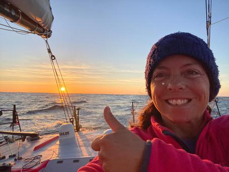 Vendée Globe: Alexia Barrier aus Biot erreicht das Ziel