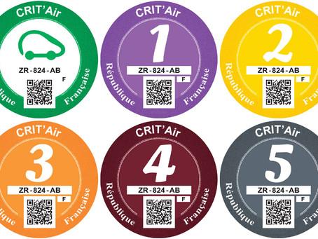 Neu: Umweltplakette für Autofahrer an der Côte d'Azur