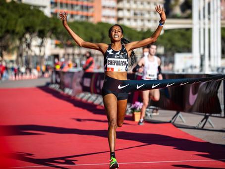 The Herculis Monaco Run: Kenyan breaks world record for the female 5K