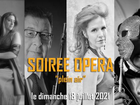 Große Opern-Momente in Privatgarten bei Valbonne