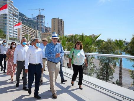 Monacos Larvotto-Strand ist wieder eröffnet – frisch renoviert und mit Shuttlebus