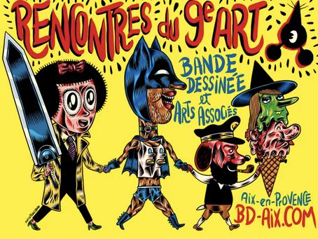 BDs in Aix – ein Festival für Frankreichs so besondere Bücher