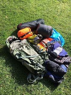What kit is required for a wild camping expedition - Camp 404 workshop