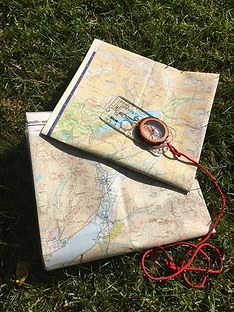 Map and compass, the most reliable method of navigating in the hills - Camp 404 workshop