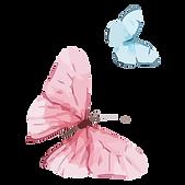 Akvarel motýl 14