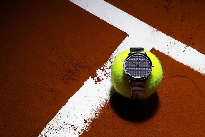 Calvin Klein montre Roland Garros