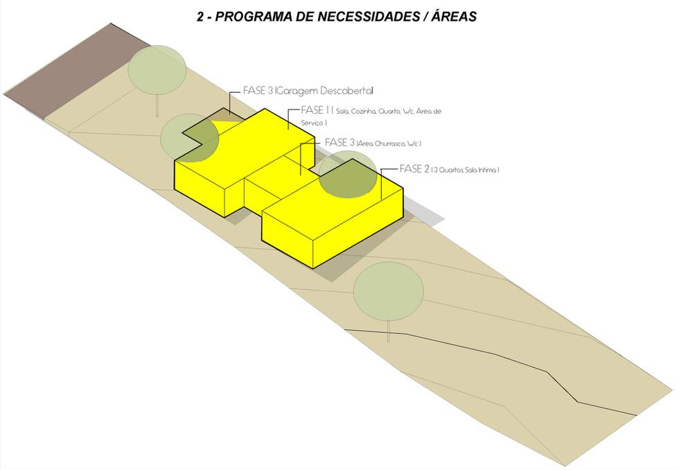 2 - Programa de necessidades