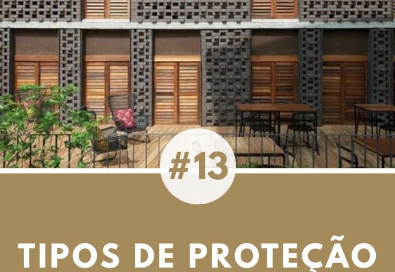 TIPOS DE PROTEÇÃO SOLAR