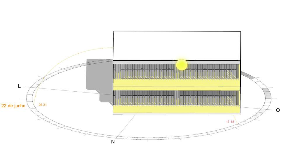 Brise fachada norte