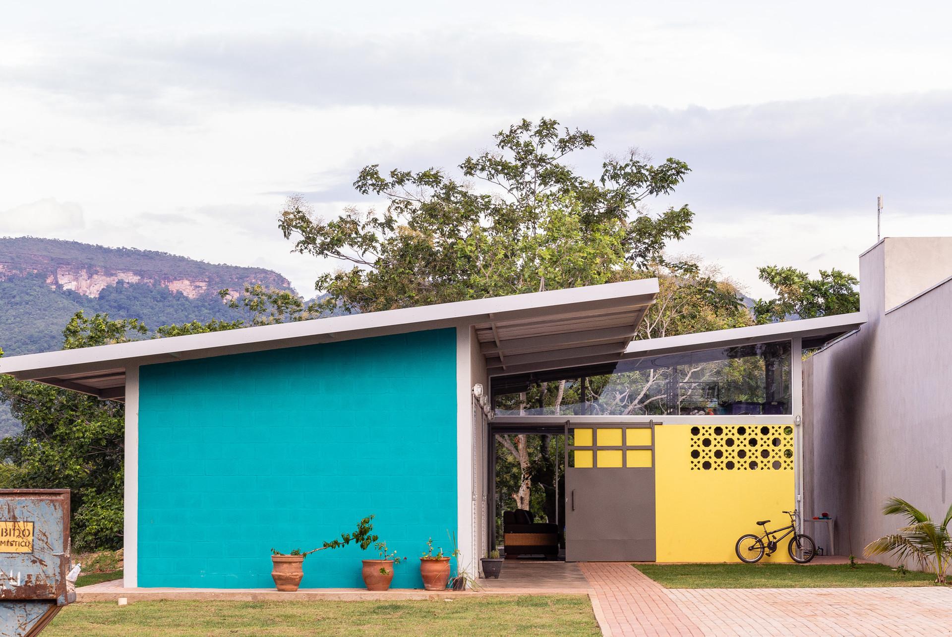 Fachada Casa Pequi