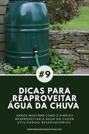 DICA SIMPLES PARA REAPROVEITAR ÁGUA DA CHUVA (minicisterna)