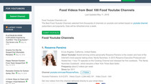 Best 100 Food Youtube Channels!
