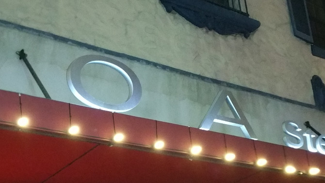 FOOD REVIEW: BOA STEAKHOUSE