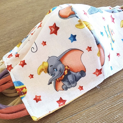 Shy Dumbo Toddler Face Mask