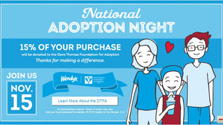 Wendy's National Adoption Night