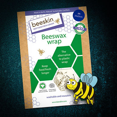 beeskin the natural alternative to plastic foil