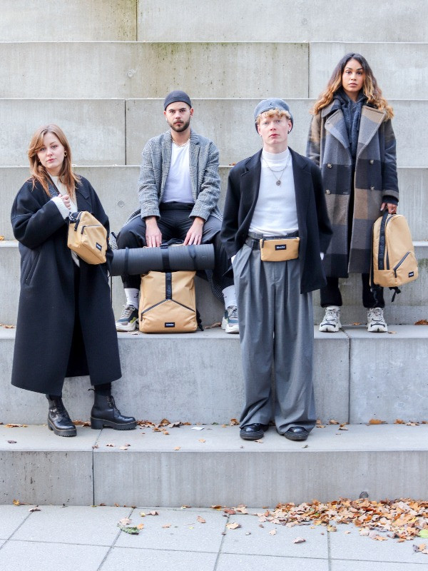 Sustainable Scandinavian bags for everyday life in the city
