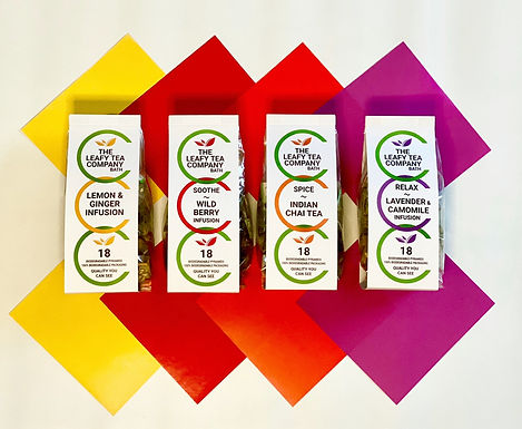 Teas & infusions - 100% biodegradable!