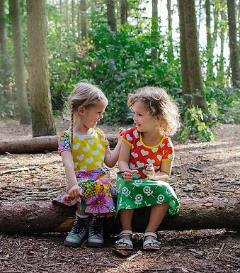 The brightest and boldest kids clothes handmade in Northampton.