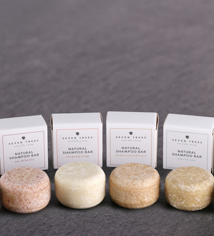 SEVEN TREES provides luxurious organic cosmetics in plant-based packaging for everyday indulgence.