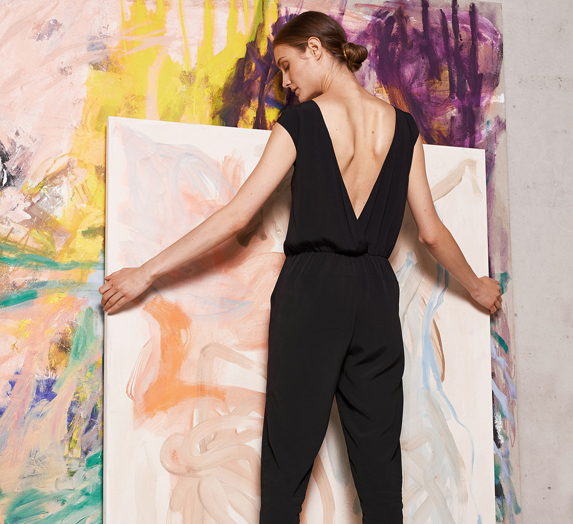 Sustainable business wear for women.