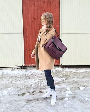Sustainable, luxury handbags