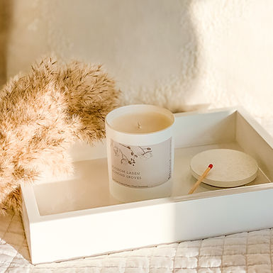 Luxury botanical candles and home fragrance
