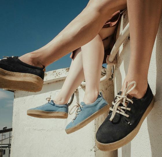 Biodegradable and organic footwear
