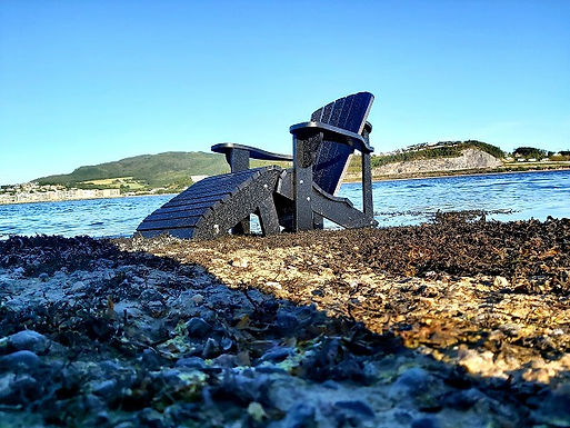 Industrial ocean plastic become sustainable furniture
