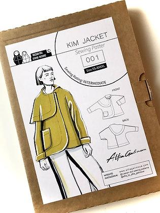 KIM  JACKET Paper Sewing Pattern