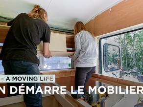 """LA NATURE se RÉVEILLE et on reprend la CONVERSION DE NOTRE BUS! - """"A MOVING LIFE"""" ÉPISODE 17"""