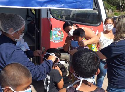 Odontomóvel visita aldeia indígena, em São José do Imbassaí, Maricá (RJ)