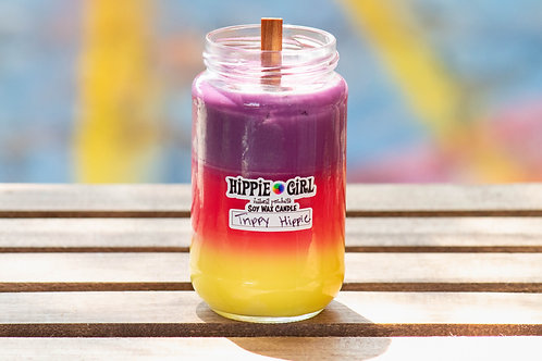 Trippy Hippie Candle