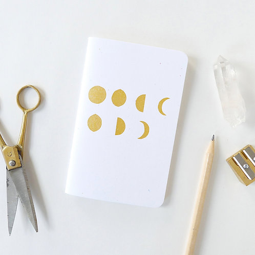 Moon Phases Mini Journal