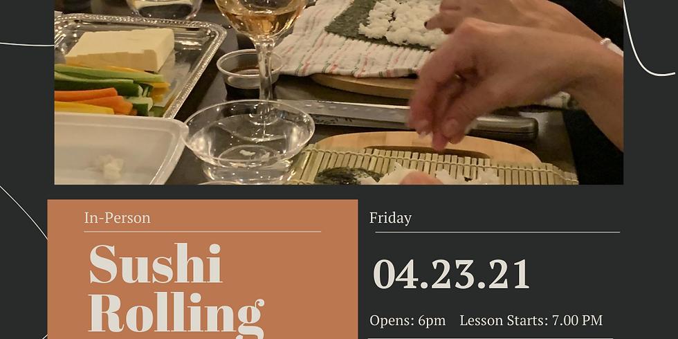 Sushi Rolling Class 🍣