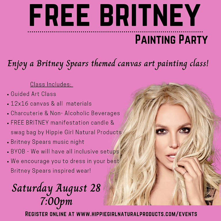 Free Britney Painting Party