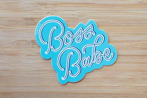 Boss Babe Sticker